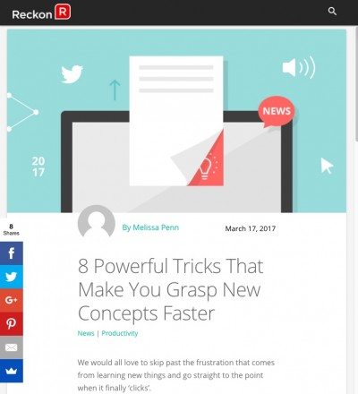 8 Powerful Tricks That Make You Grasp New Concepts Faster First